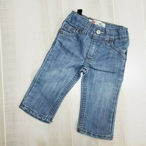 Levi's 514 Straight Denim Jeans Baby Boy 12 M ~ ER